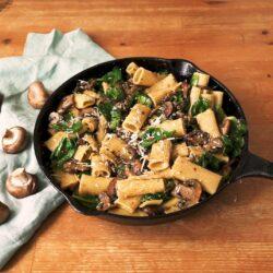 Garlic Butter Mushroom Pasta