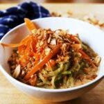 Thai Peanut Cucumber Noodles