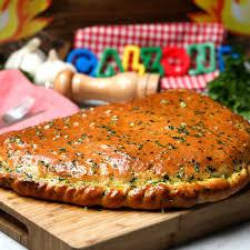 Beef Stew Cheesy Calzone