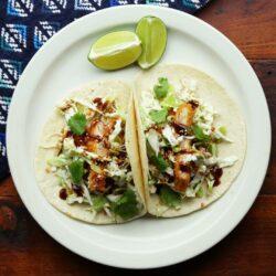 Chicken Katsu Tacos