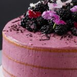 Earl Grey Blackberry Cake