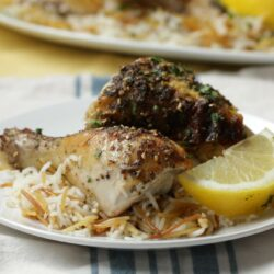Za'atar Chicken And Rice Pilaf