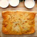 Sheet Pan Chicken Fajita Crunchwrap
