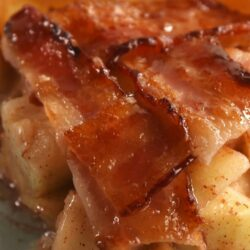 Bacon-Weave Apple Pie