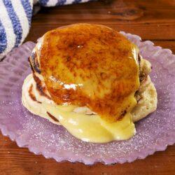 Crème Brûlée Pancakes