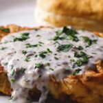 Country-Fried Cauliflower Steaks And Gravy
