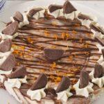 Terry's Chocolate Orange Cheesecake