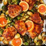 Sheet Pan Citrus-Glazed Chicken