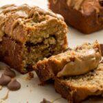 Chocolate-Peanut Butter Banana Bread