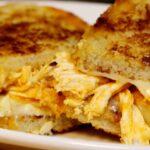 Katsu Chicken Grilled Cheese Sandwich