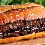 Giant BBQ Rib Sandwich (To Feed A Crowd)