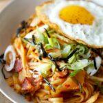 Kimchi Udon Stir Fry