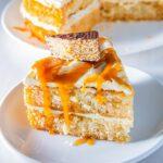 Tunnocks Salted Caramel Cake