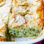 Kolokithopita – Greek Zucchini Pie