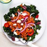 Tomato Fried Rice Salad