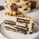 Peanut Butter Oreo Ice Cream Cake