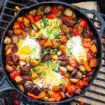 Maple Chorizo Breakfast Skillet