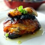 Roasted Miso Chicken Thighs