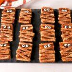 Pumpkin Mummy Cookies